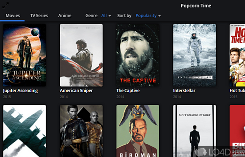 Popcorn Time Screenshot