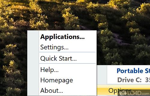Portable Start Menu Screenshot