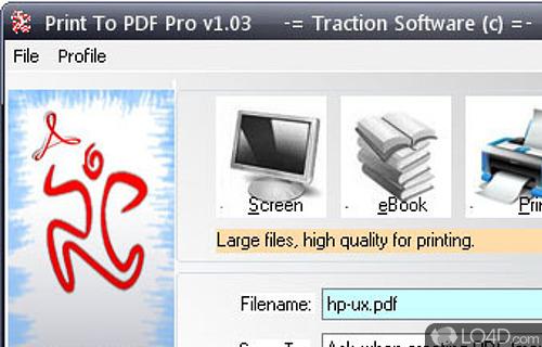 Print To PDF Pro Screenshot