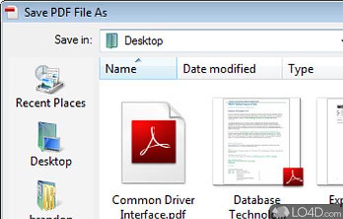 Print2PDF Screenshot