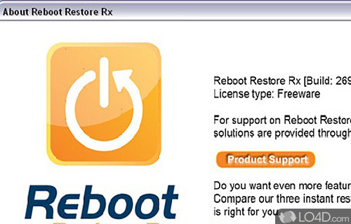 Reboot Restore Rx Screenshot