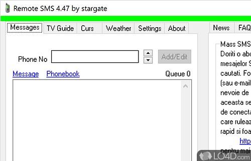 Remote SMS Screenshot