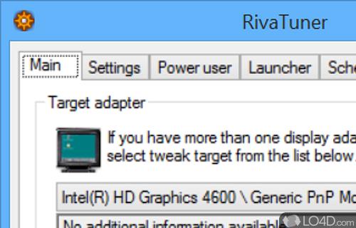 RivaTuner Screenshot