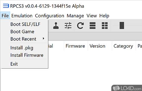 playstation 3 emulatore pc