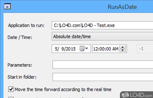 RunAsDate Screenshot