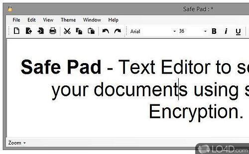 Safe Pad Screenshot
