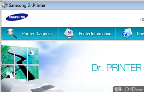 Samsung Dr Printer Screenshot