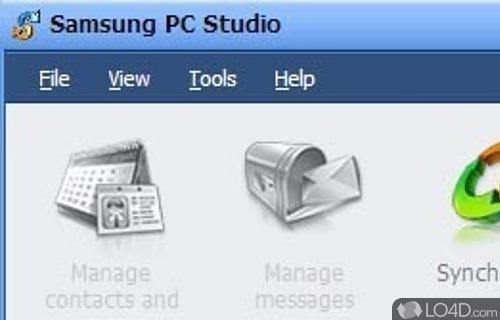 Samsung PC Studio II Screenshot