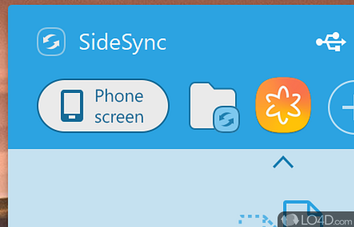 Samsung SideSync Screenshot