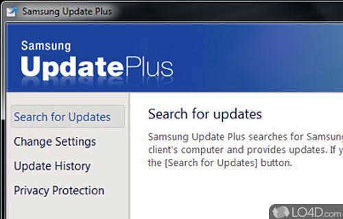 Samsung Update Plus Screenshot