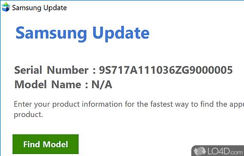 Samsung Update Screenshot