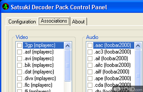 satsuki decoder pack 64 bits