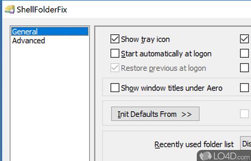 ShellFolderFix Screenshot