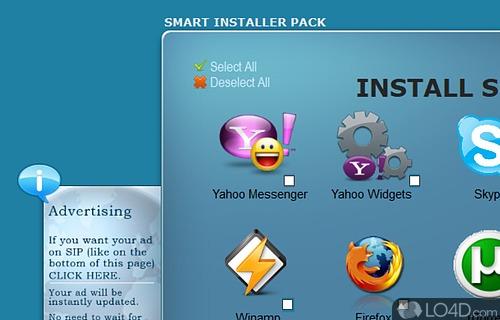 Smart Installer Pack Screenshot