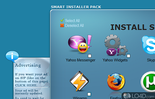 Smart Installer Pack Screenshot