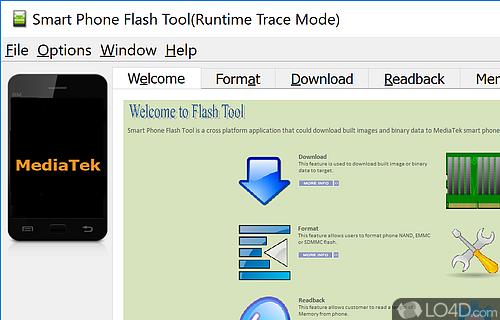 Smart Phone Flash Tool Screenshot