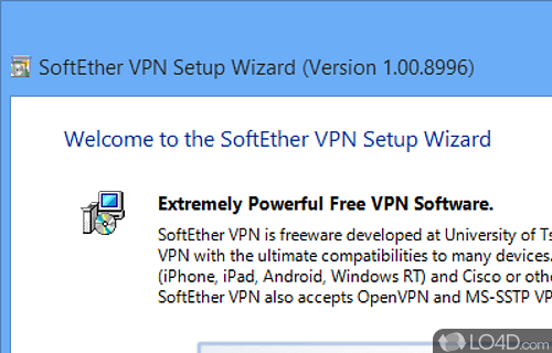 SoftEther VPN Screenshot