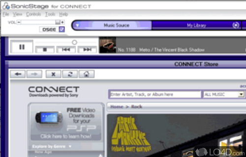 Download SonicStage for Windows 10 7 /8 (64/32 bits). Latest Version