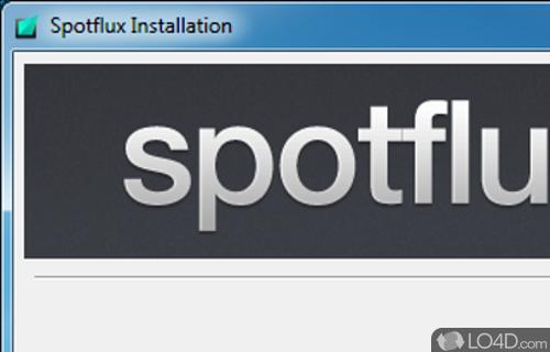 Spotflux Screenshot