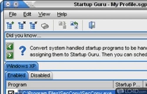 Startup Guru Screenshot