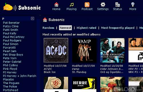 Subsonic Screenshot