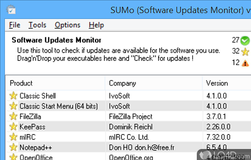 SUMo Portable Screenshot