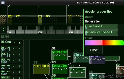 SunVox Screenshot