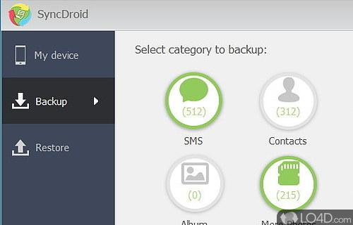 SyncDroid Screenshot