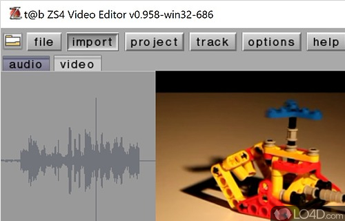 t@b ZS4 Video Editor for win32 Screenshot