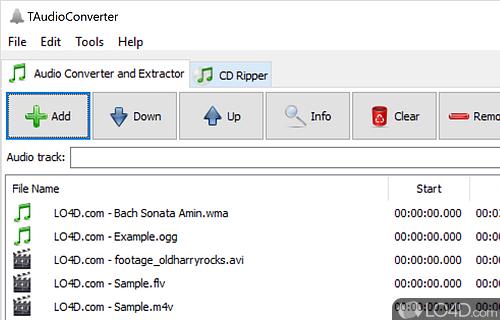 TAudioConverter Screenshot