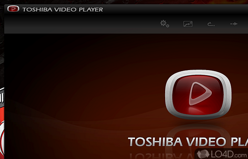 Toshiba Video Player Screenshot
