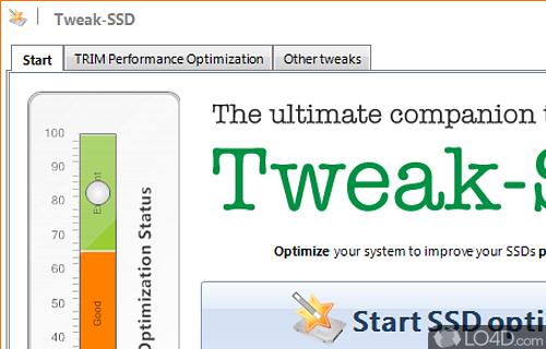 Tweak SSD Screenshot