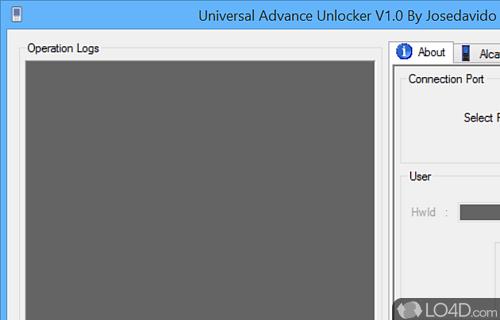 Universal Advance Unlocker Screenshot