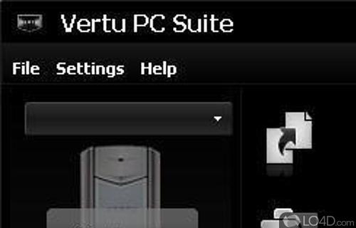 Vertu PC Suite Screenshot