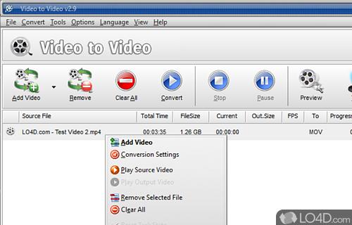Video to Video Converter Portable Screenshot