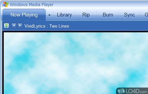 VividLyrics Screenshot