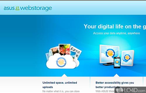 WebStorage Screenshot