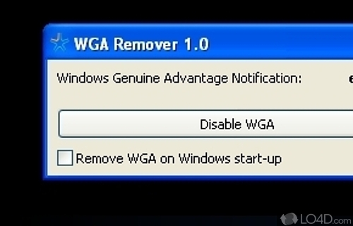 WGA Remover Screenshot