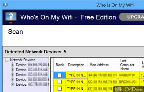 Who Is On My Wifi Screenshot