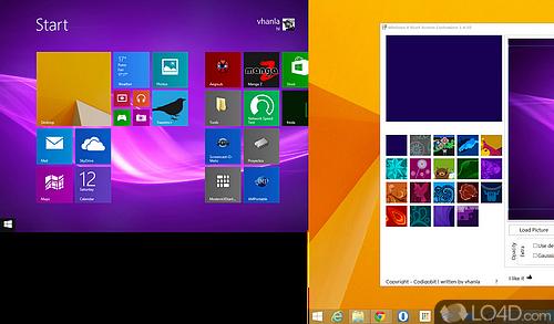Windows 8 Start Screen Customizer Screenshot