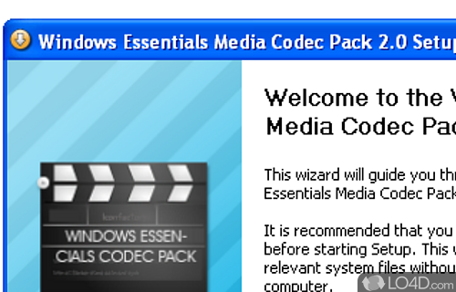 Windows Essentials Codec Pack Screenshot
