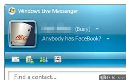 Windows Live Messenger 8.1 Screenshot