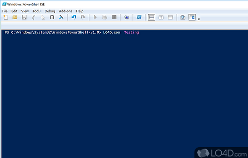 Windows PowerShell Screenshot