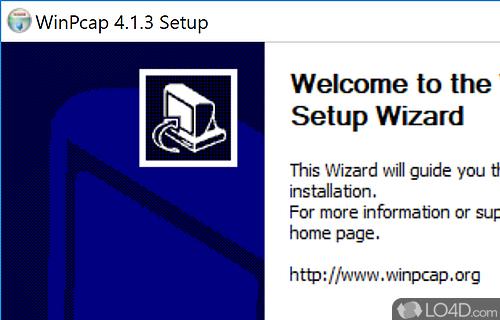 winpcap windows 10