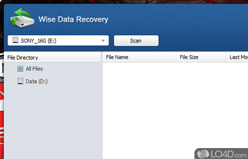 Wise Data Recovery Screenshot