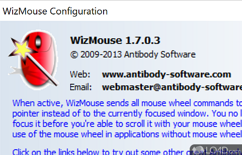 WizMouse Screenshot