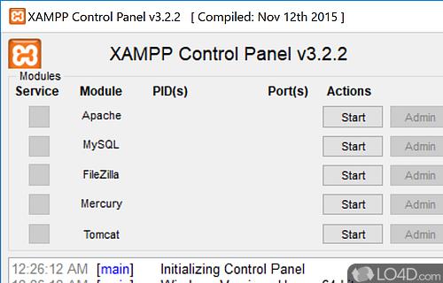 download xampp for windows 64 bit
