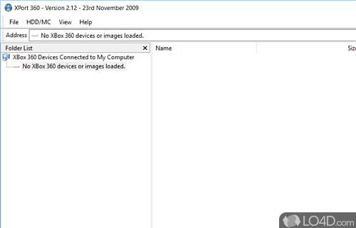 XPort 360 Screenshot