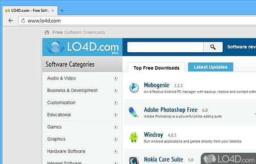 Yandex Browser Screenshot