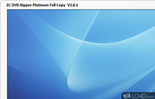 ZC DVD Ripper Platinum Screenshot